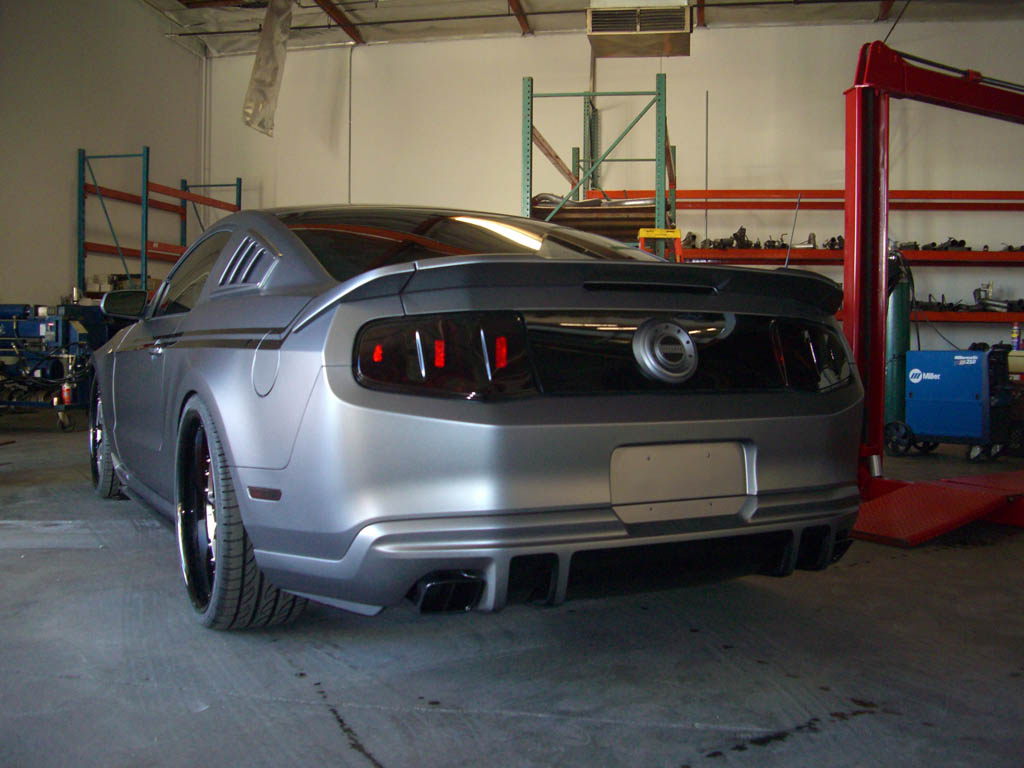 FLAT BLACK 50 Page 4 The Mustang Source Ford